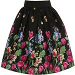 Dámská sukně Lindy Bop Praia černá