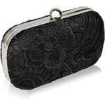 LS Fashion společenská kabelka LS0110 černá