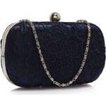 LS Fashion společenská kabelka LS0110 modrá