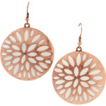 Esprit rose gold metal earrings