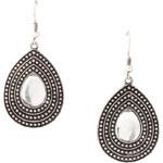 Esprit metal teardrop earrings