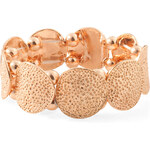 Esprit rose gold metal bracelet