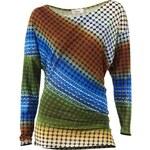 HEINE DÁMSKÉ TRIČKO S DLOUHÝM RUKÁVEM HEINE, dámské tričko barevné