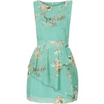 Topshop **Floral Peplum Dress by Wal G