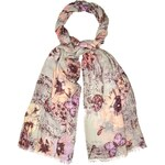 Marks and Spencer M&S Collection Lightweight Vintage Style Floral Scarf