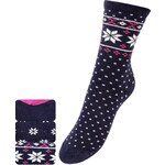 Marks and Spencer 3 Pairs of Freshfeet™ Cotton Rich Fair Isle Socks with Silver Technology
