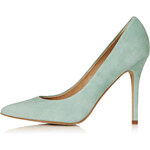 Topshop Gwenda Leather Courts
