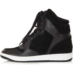 Topshop ATLANTIC Wedge High Tops
