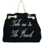 Wildfox Copa Club Reversible Canvas Beach Bag
