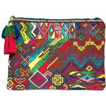 Star Mela Mezzy Embroidered Clutch Bag - Multi