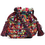 Star Mela Ina Embroidered X-Body Duffle Bag - Multi