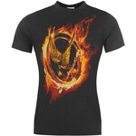 Character The Hunger Games T Shirt Ladies Fire Mockingjay 10 (S)