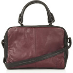 Topshop Medium Leather Holdall