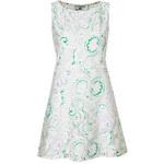 Topshop **Paisley Textured Shift Dress by Rare