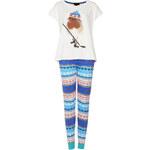 Topshop Robin Print Pyjama Set