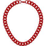 Topshop Red Chunky Chain
