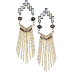 Topshop Stick Drop Earrings