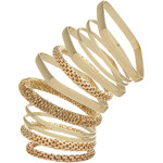 Topshop Mixed Shape Bangle Pack