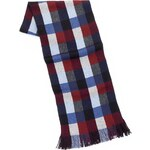 Marks and Spencer Pure Wool Multi-Square Print Scarf