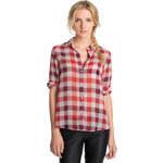 Esprit transparent check blouse