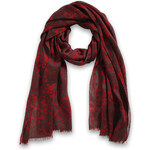 Esprit viscose scarf with a lace print