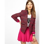 Paul by Paul Smith Blazer in Fluorescent Embroidered Fabric - Multi