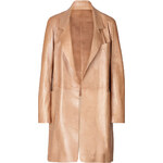 Donna Karan New York Leather Coat