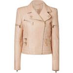 Balmain Biker Jacket in Lamb Leather