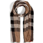 Burberry Shoes & Accessories Linen Checked Scarf