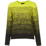 Topshop Knitted Ombre Jumper