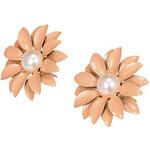 LightInTheBox Beautiful Small Daisy Flower Pearl Earrings