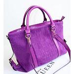 LightInTheBox TIAN KONG Women'S Trendy Stone Pattern Tote(Purple)