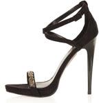 Topshop Razzle Glitter Sandals