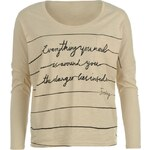 Firetrap Catri Everything T Shirt Ladies Neutral X Small