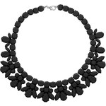 Topshop Black Jelly Plastic Necklace