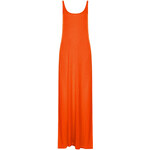 Topshop Low Back Jersey Maxi Dress
