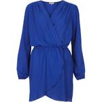 Topshop **Chiffon Wrap Dress by Love