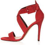 Topshop RUSTLE Suede Strappy Sandals