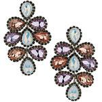 Topshop Premium Flower Drop Earrings