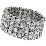 Topshop Premium Crystal Rhinestone Stretch Bracelet