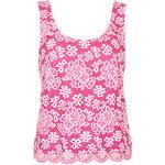 Topshop Scallop Lace Vest