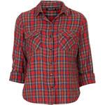Topshop Tartan Check Shirt