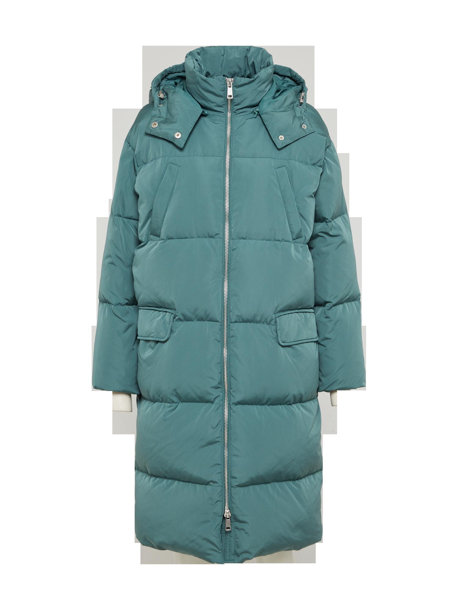 Waren des täglichen Bedarfs Auf Abstand 100% original MOSS COPENHAGEN Zimný kabát Zelená