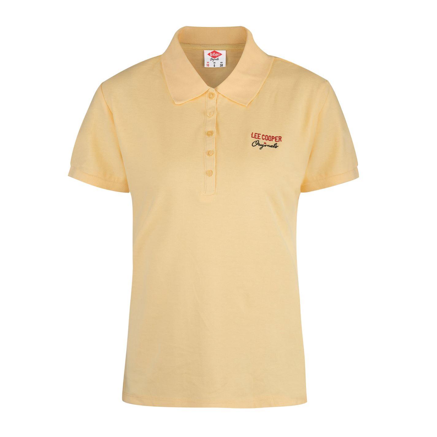 1dd7d9f6ca86 ... Cooper Plain Polo Shirt dámské Yellow. -5%. Lee ...