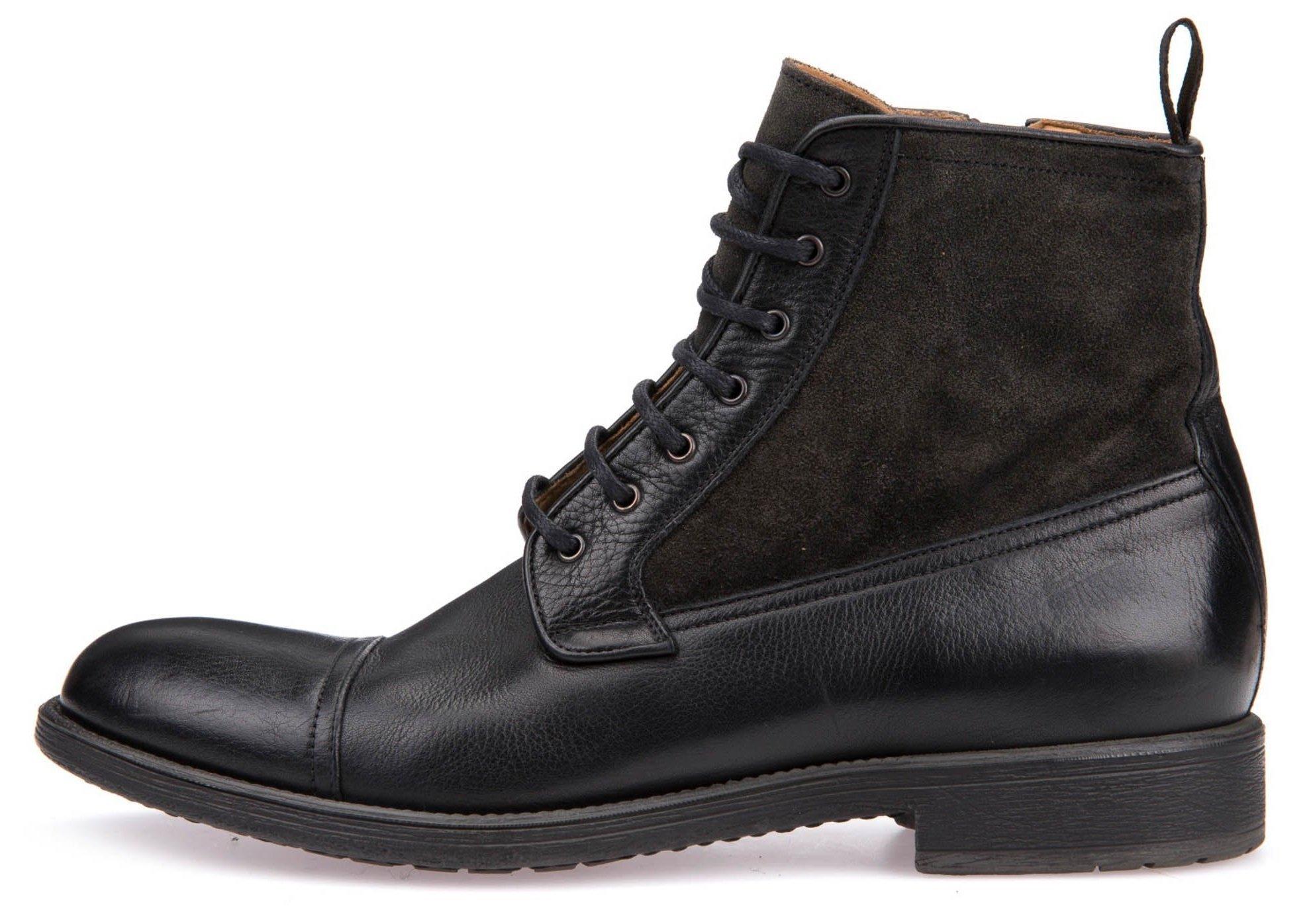 203656c869 Geox Pánska členková obuv čierna - Glami.sk