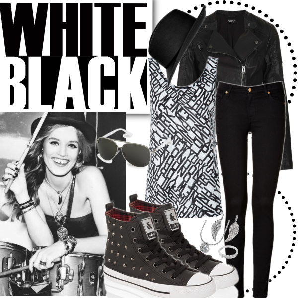 White and black R'n'R