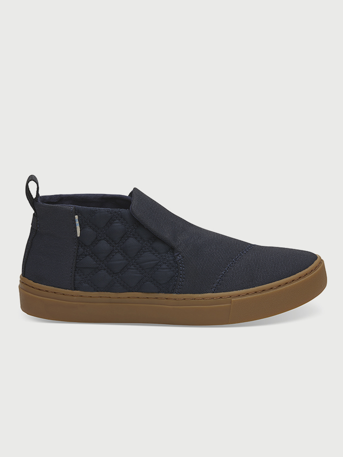 Topánky Toms Navy WR Textural Canvas Quilted Nylon - Glami.sk 9f306908219