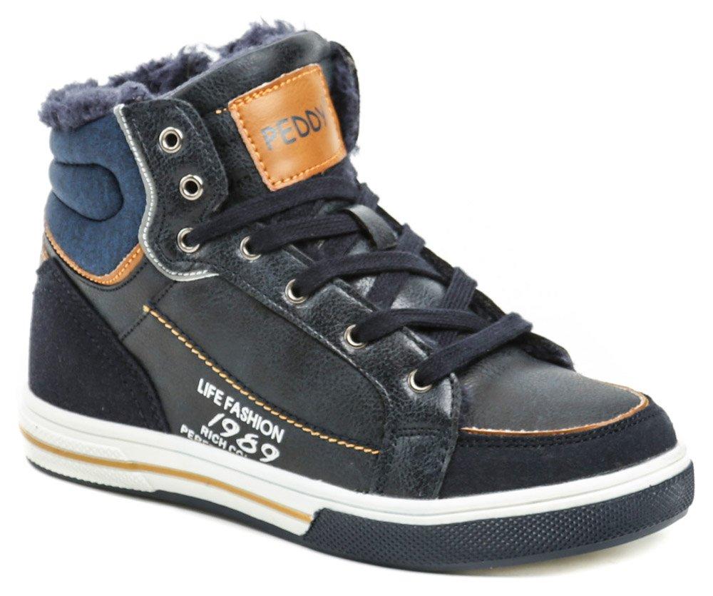 3641b8c635e26 Peddy P1-536-37-08 chlapčenská zimná členková obuv - Glami.sk