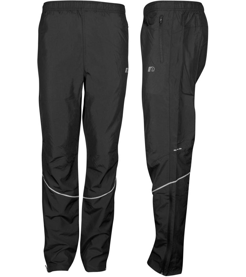 79c3d242b1fc NEWLINE BASE Dámske bežecké šuštiakové nohavice 13282-060 čierna XS ...