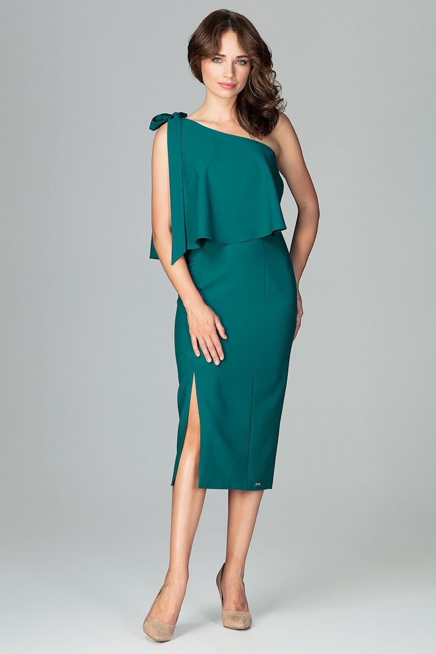 Společenské šaty Lenitif K489 zelené - Glami.cz e720398422